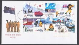 AUSTRALIE AAT 2001 FDC Centenaire 1901-2001 De L'Australie En Antarctique (b) - FDC