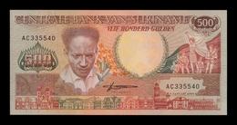 Surinam Suriname 500 Gulden 1988 Pick 135b SC UNC - Suriname