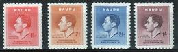 Nauru Set Of Stamps To Celebrate The 1937 Coronation. - Nauru