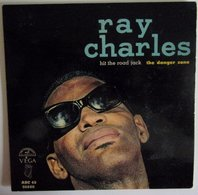 Ray Charles The Danger Zone / Hit The Road Jack EP 45 - Blues