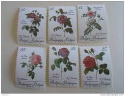 België Belgique 1990 Belgica '90 Roses De Redouté Rozen 2370-2375 MNH ** - Ungebraucht