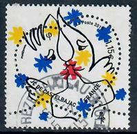 YT 4925-4 Saint Valentin Coeur Castelbajac (1,15)cachet Rond - 2010-.. Matasellados