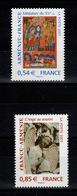 YV 4058 & 4059 N** - Prix = Faciale , France Armenie - France