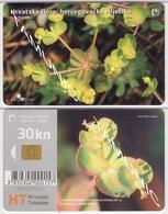 CROATIA FLORA HERCEGOVACKA MLJECIKA 2004 30 Kn. WITH Tirage: 54 000  EDITION: II - Kroatië