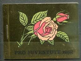 Swiss Mi# O-76 Markenheftchen Postfrisch/MNH - Pro Juventute Flora Roses - Carnets