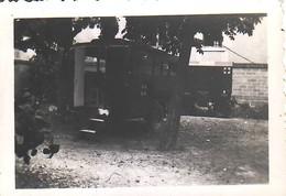 Armée Française  France 40  Roulotte Ambulance 39 Valence (10) - Guerre, Militaire