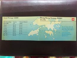 HONG KONG BOOKLET, LIGHT TONING ON BOOKLET, STAMPS ARE GOOD & NO TONING - Hong Kong (...-1997)