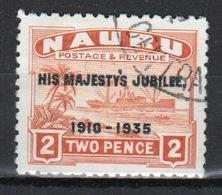 Nauru Single 2d Stamp To Celebrate The 1935 Silver Jubilee. - Nauru