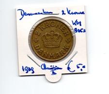 DENEMARKEN 2 KRONER 1939 CHRISTIAN X - Denmark
