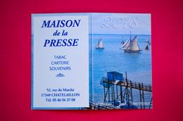 Calendrier De Poche 2018, MAISON De La PRESSE à Chatelaillon, 17 - Tamaño Pequeño : 2001-...