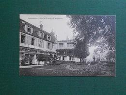 CPA FONTAINEBLEAU HOTEL DE FRANCE ET D ANGLETERRE VECRITE 1955 SUPERBE - Fontainebleau