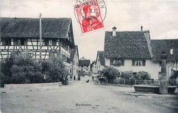 Cpa MARTHALEN - ( Tüfewege, Lochstrass ) - ZH Zurich