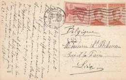 CARTOLINA ANNI 20  C.10 ANNIV.VITTORIA +2X20 (TY2251 - Storia Postale