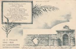 CARTOLINA VIAGGIATA 1899 BELFORTE LIVORNO (TY2117 - Livorno