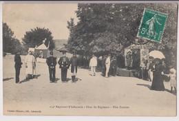 LEROUVILLE (55) : 154ème REGIMENT D'INFANTERIE - FÊTES DU REGIMENT - FÊTE FORAINE - ECRITE EN 1910 - 2 SCANS - - Lerouville