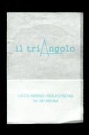 Tovagliolino Da Caffè - Bar Triangolo - ( Ischia ) - Werbeservietten