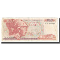 Billet, Grèce, 100 Drachmai, 1976, KM:200a, TB - Grecia
