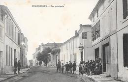 BRIZAMBOURG  ( 17 ) - Rue Principale - France