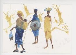 Afrique - Marché De Sangha - Miquel Barcelo Peintre - Burkina Faso