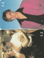 LOT 2 PHONE CARDS DI CAPRIO (PY2287 - Personen