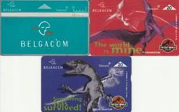 LOT 3 PHONE CARDS BELGIO (PY2304 - België