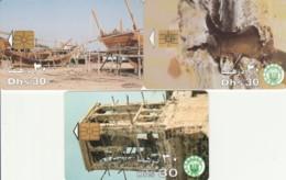 LOT 3 PHONE CARDS EMIRATI ARABI (PY2262 - Emiratos Arábes Unidos