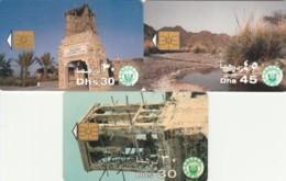 LOT 3 PHONE CARDS EMIRATI ARABI (PY2268 - Emiratos Arábes Unidos