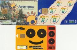 LOT 3 PHONE CARDS SPAGNA (PY2021 - Spanje