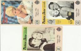 LOT 3 PREPAID PHONE CARDS PERSONAGGI (PY2114 - Personen