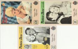 LOT 3 PREPAID PHONE CARDS PERSONAGGI (PY2115 - Personen