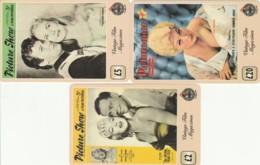 LOT 3 PREPAID PHONE CARDS PERSONAGGI (PY2118 - Personen