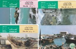 LOT 4 PHONE CARDS EMIRATI ARABI (PY2256 - Emiratos Arábes Unidos