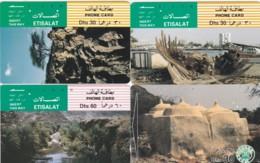 LOT 4 PHONE CARDS EMIRATI ARABI (PY2257 - Emiratos Arábes Unidos