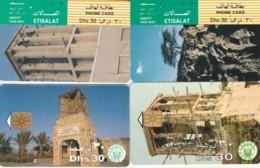 LOT 4 PHONE CARDS EMIRATI ARABI (PY2261 - Emiratos Arábes Unidos