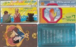 LOT 4 PHONE CARDS ISRAELE (PY2055 - Israel