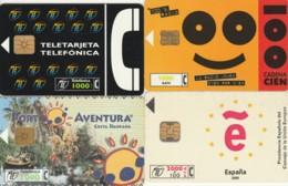 LOT 4 PHONE CARDS SPAGNA (PY2017 - Spanje