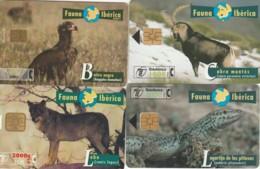 LOT 4 PHONE CARDS SPAGNA (PY2019 - Spanje