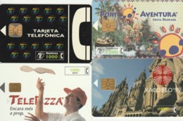 LOT 4 PHONE CARDS SPAGNA (PY2020 - Spanje