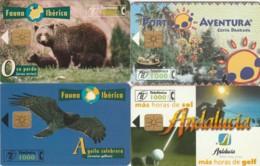 LOT 4 PHONE CARDS SPAGNA (PY2022 - Spanje