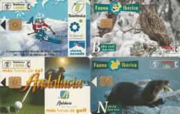 LOT 4 PHONE CARDS SPAGNA (PY2314 - Spanje