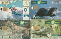 LOT 4 PHONE CARDS SPAGNA (PY2315 - Spanje
