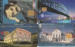 LOT 4 PHONE CARDS UNGHERIA (PY2172 - Hungría