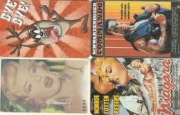 LOT 4 PREPAID PHONE CARDS PERSONAGGI (PY2329 - Personen
