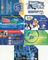 LOT 7 PHONE CARDS POLONIA (PY2324 - Polonia