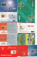 LOTTO 11 GSM CON CHIP RIATTACCATO CON NASTRO ADESIVO (PY2289 - [2] Handy-, Prepaid- Und Aufladkarten