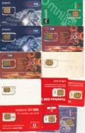 LOTTO 12 GSM CON CHIP RIATTACCATO CON NASTRO ADESIVO (PY2290 - [2] Handy-, Prepaid- Und Aufladkarten