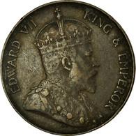 Monnaie, Hong Kong, Edward VII, Cent, 1904, Heaton, TTB, Bronze, KM:11 - Hong Kong
