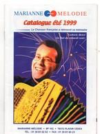 Catalogue 1999, Marianne MELODIE, Chanson Française, Prix Des Disques, Chanteur, 36 Pages - Música & Instrumentos