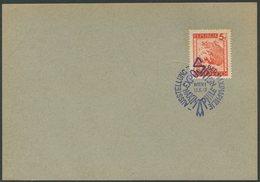 ÖSTERREICH / Karte Mit ANK 848 Und SSt. Ausstellung Der Maximalphilie In Wien Vom 13.6.48 - 1961-70 Briefe U. Dokumente