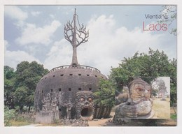LAOS - AK 379780 Vientianne - Wat Xiangkuan - Laos